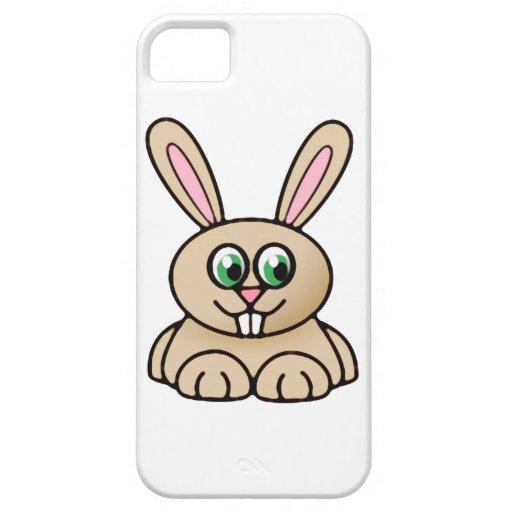 Green Eyes Rabbit Cartoon Art iPhone 5 Cover