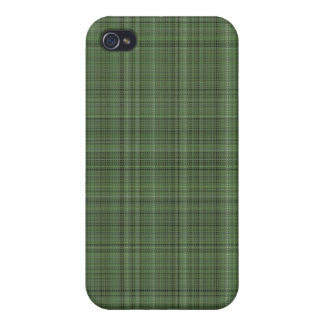 Green Fabric Case for iPhone 4