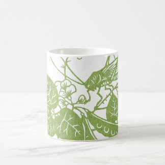 Green Fabric Cricket Coffee Mug