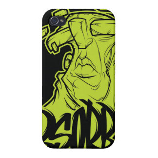 Green Face - iPhone Case