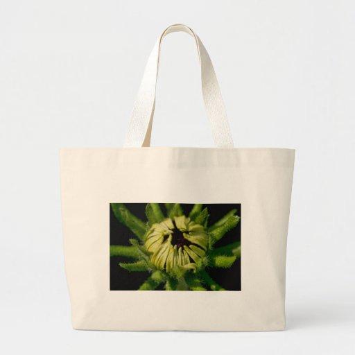 green face jumbo tote bag