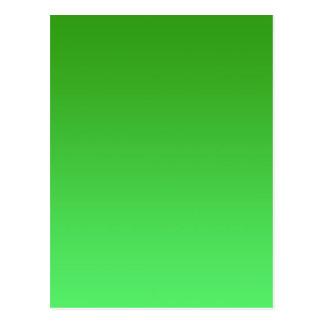 Green Fade Postcard