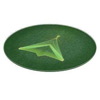 Green Faery Cutting Board