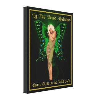 Green Fairy Absinthe Canvas Print