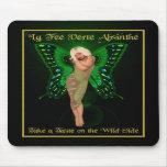 Green Fairy Absinthe Mousepad