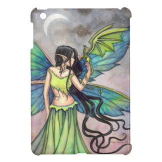 Green Fairy and Dragon Fantasy Art Case For The iPad Mini