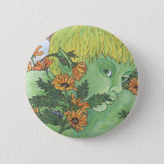 Green Fairy Button