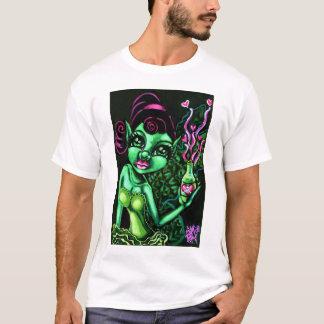 """""""Green Fairy"""" Fantasy Faerie Tee Shirt"""