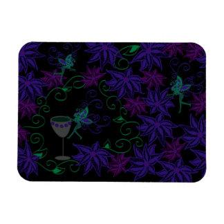 Green Fairy Flower Garden Magnet