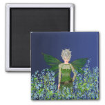 Green Fairy - Forget-Me-Not Magnets