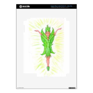 Green Fairy iPad 3 Decals