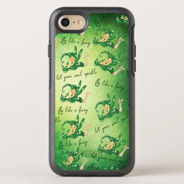 Green Fairy let your soul sparkle fly Like A fairy OtterBox Symmetry iPhone 8/7 Case