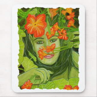 Green Fairy Mousepad