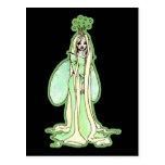 Green Fairy Princess Postcard