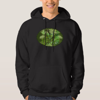 Green Fairy Splashy Collage I Hoodie