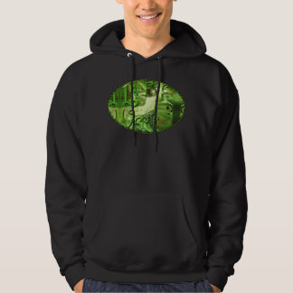 Green Fairy Splashy Collage IV Hoodie