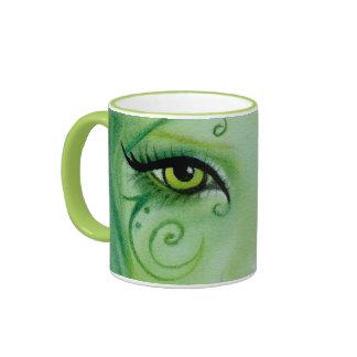 Green fairy Swils Eye Mug