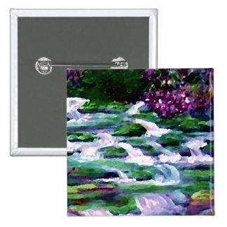 """Green Fairy Waterfalls""  CricketDiane Art Pin"