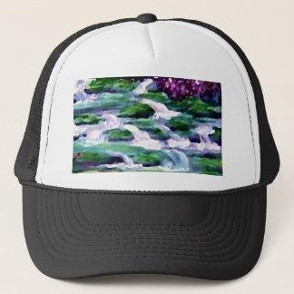 """Green Fairy Waterfalls""  CricketDiane Art Trucker Hat"