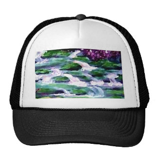 """Green Fairy Waterfalls""  CricketDiane Art Trucker Hat"