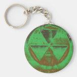 green Fallout Key Chain
