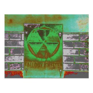green Fallout Postcard