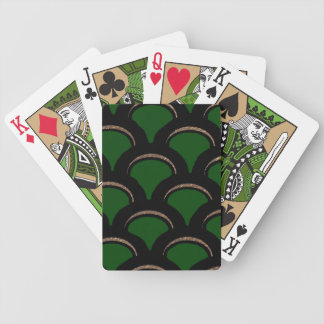 green fan bicycle playing cards