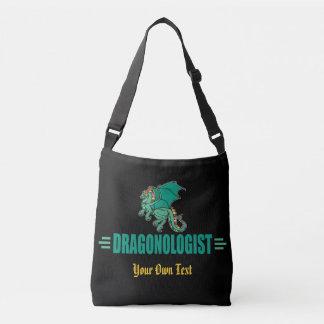 Green Fantasy Dragon Crossbody Bag