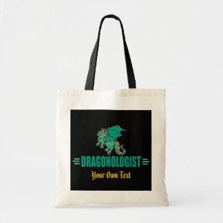 Green Fantasy Dragon Tote Bag
