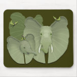Green Fantasy Mouse Pad