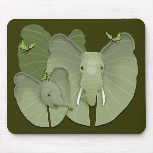 Green Fantasy mousepad