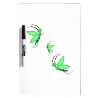Green Faries Dry Erase Whiteboard