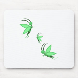 Green Faries Mouse Pad