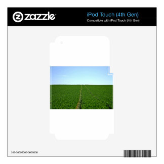 Green Farm Image Decal For iPod Touch 4G
