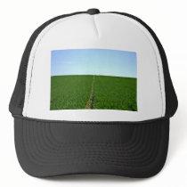 Green Farm Image Trucker Hat