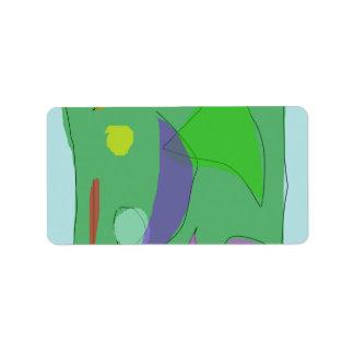 Green Farm Purple Moon Label