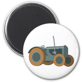 Green Farm Tractor Magnet