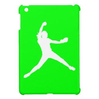 Green Fastpitch iPad Mini Case