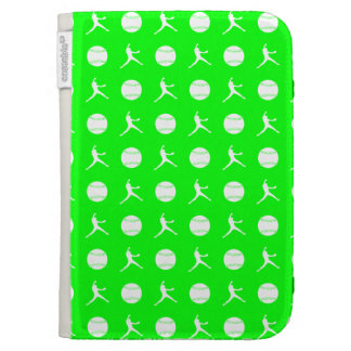 Green Fastpitch Kindle Case