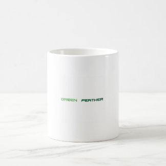 Green Feather sulks Coffee Mug
