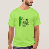 Green Feathers Project T-Shirt (Colored)