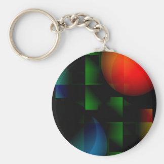 Green Felt Table Keychain