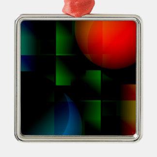 Green Felt Table Metal Ornament