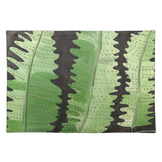 Green Fern American Mojo Placemat