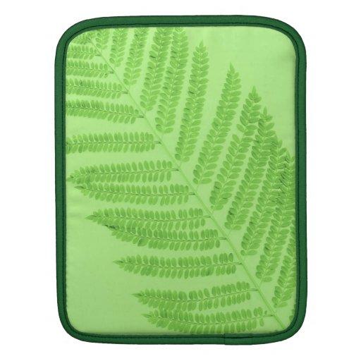 Green Fern iPad Sleeve