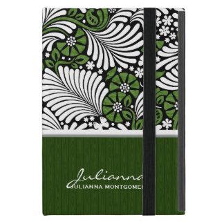 Green Fern Print Mini Tablet Case iPad Mini Cover