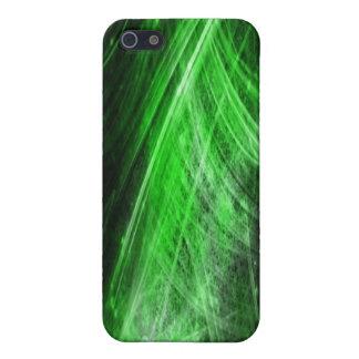 Green Fiber Optic Iphone 4 Case