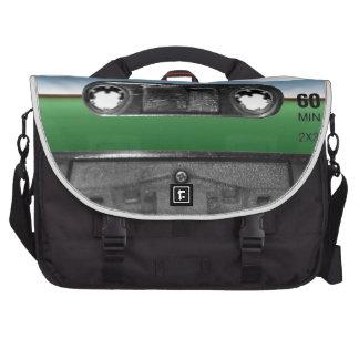 Green Field Horizon Cassette Bag For Laptop