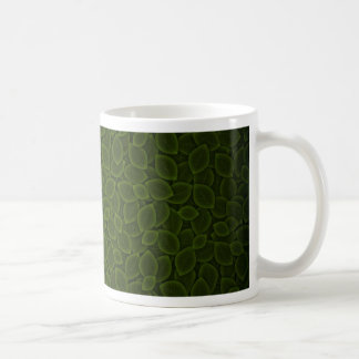Green Field Classic White Coffee Mug