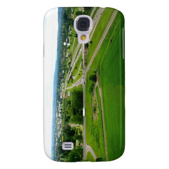 Green Fields Samsung Galaxy S4 Cover